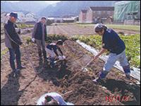 農業体験で地域に貢献