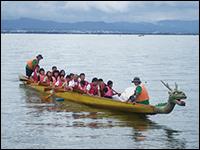 琵琶湖で自然体験活動