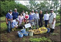 農業体験で新たな発見