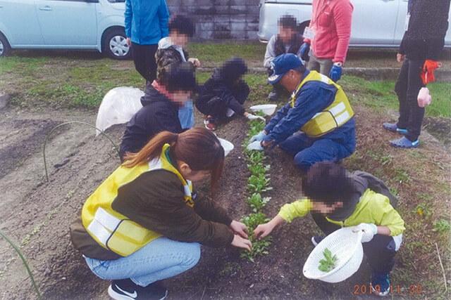 少年たちを成長させた農業体験