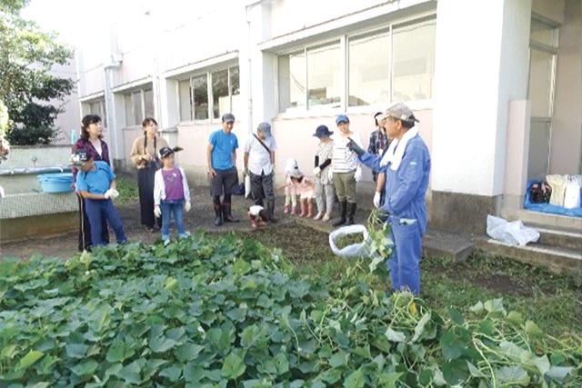 子どもたちから元気をもらった農業体験